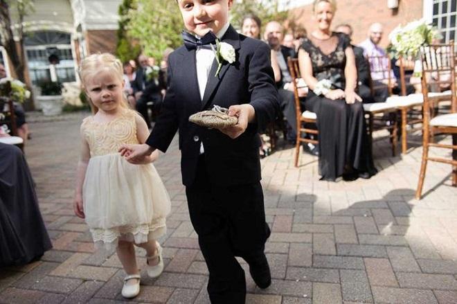 boda civil niños